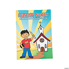 Sermon Notes For Kids Activity Books