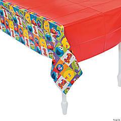 Sesame Street® Elmo Turns One Plastic Tablecloth
