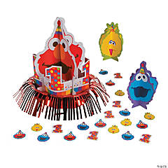 Sesame Street® Elmo Turns One Table Decorating Kit