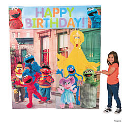Sesame Street® Scene Setter Wall Decorating Kit