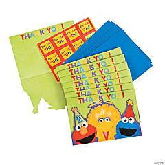 "Sesame Street® 1st Birthday ""Thank You"" Notes"