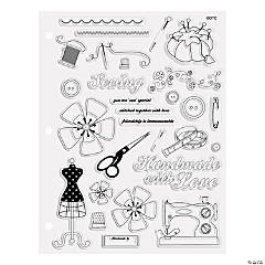 Sewing Clear Stamps