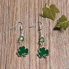 Shamrock Earrings Idea