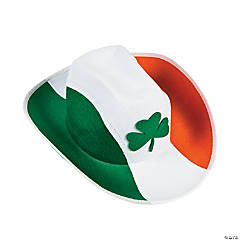 Shamrock Irish Cowboy Hat