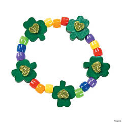 Shamrock Rainbow Bracelet Craft Kit