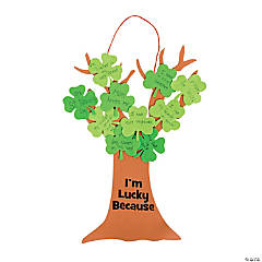 Shamrock Tree of Luck Craft Kit