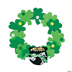 Shamrock Wreath Craft Kit