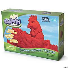 Shape It! - Red, 5lb box
