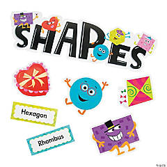 Shapes Mini Bulletin Board Set
