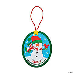 """Share His Light"" Christmas Ornament Craft Kit"