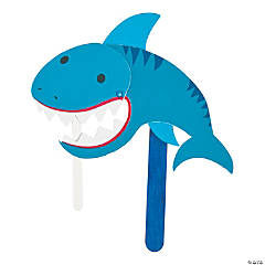 Shark Puppet Craft Kit
