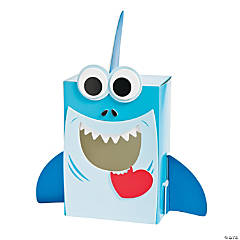 Shark Valentine Card Holder Box Craft Kit