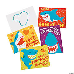 Shark Valentine Cards