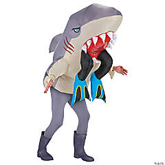 Shark with Legs Costume for Adults