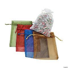 Sheer Drawstring Bags