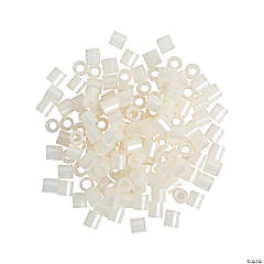 Shimmering White Fuse Beads