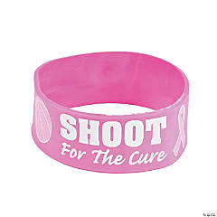 Shoot for a Cure Big Band Bracelets