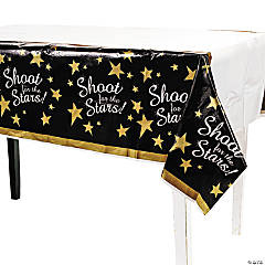 Shoot For the Stars! Plastic Tablecloth