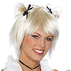 Short School Girl Blonde Wig