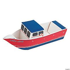 Shrimp Boat Cardboard Snack Tray