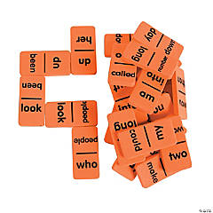 Sight Words Dominoes - Level 1