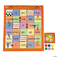 Sight Words Mat Game