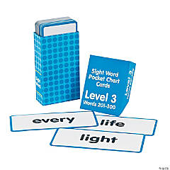 Sight Words Pocket Chart Cards - Level 3