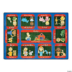 Signs On The Farm® Classroom Rug
