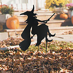 Silhouette Halloween Yard Sign