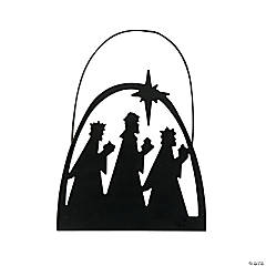 Silhouette Wise Men Ornaments