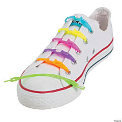 Silicone Neon Shoelaces