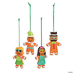 Silly Gingerbread Ornaments