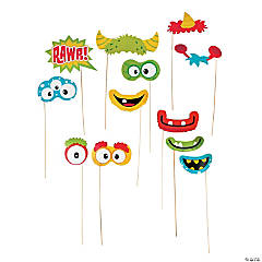 Silly Monster Photo Stick Props