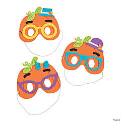 Silly Pumpkin Mask Craft Kit