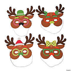 Silly Reindeer Mask Craft Kit