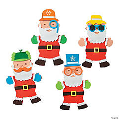 Silly Santa's Magnet Craft Kit