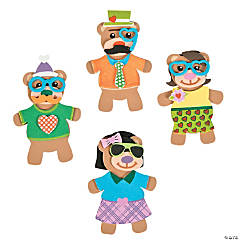 Silly Valentine Bear Magnet Craft Kit
