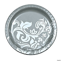 Silver Anniversary Dinner Plates