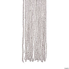 Silver Bead Necklaces