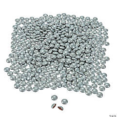 Silver Coated Chocolate Candy