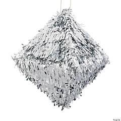 Silver Diamond Piñata