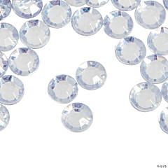 Silver Faceted Round Gems - Small