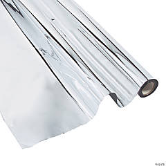 Silver Metallic Plastic Sheeting