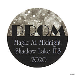 Silver PromPersonalized Stickers