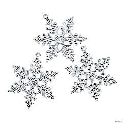 Silver Snowflake Pendants