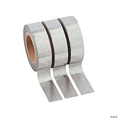 Silver Washi Tape Set