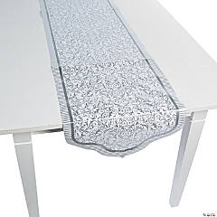 Silver Wedding Table Runner