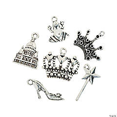 Silvertone Fairy Tale Ending Charms