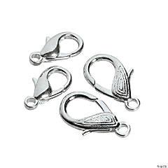 Silvertone Lobster Clasps