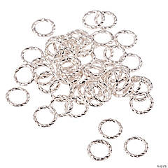 Silvertone Metal Rings